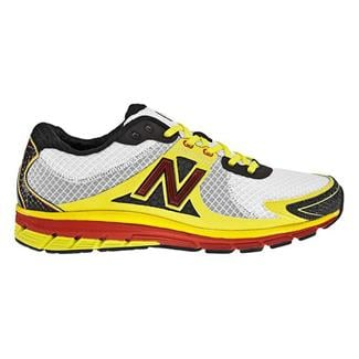 New Balance 1190 White / Yellow / Red