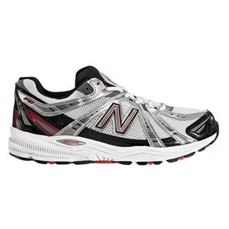 New Balance 840 Silver / Red / Black