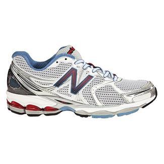 New Balance 1260 White / Blue & Red