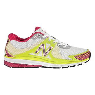 New Balance 1190 White / Yellow & Pink