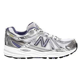 New Balance 840 White / Blue & Silver