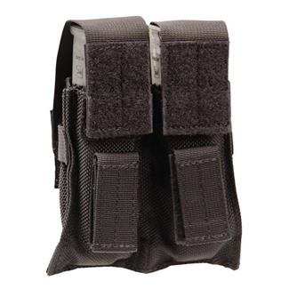 Blackhawk BTS Double Pistol Mag Pouch Black