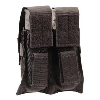 Blackhawk BTS Double Pistol Mag Pouch Black