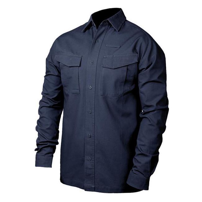 Blackhawk Cotton Tactical Long Sleeve Shirt Navy
