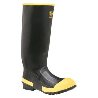 """LaCrosse 16"""" Premium Knee ST Black / Yellow"""