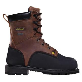 "LaCrosse 8"" Highwall Miner ST Brown / Black"