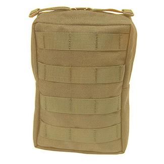 Elite Survival Systems MOLLE Medium General Utility Pouch Coyote Tan