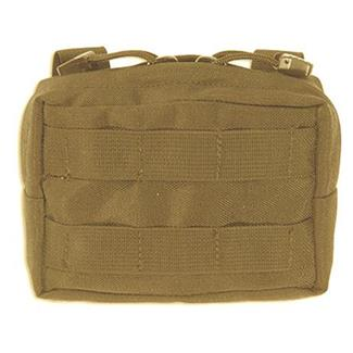 Elite Survival Systems MOLLE Small General Utility Pouch Coyote Tan