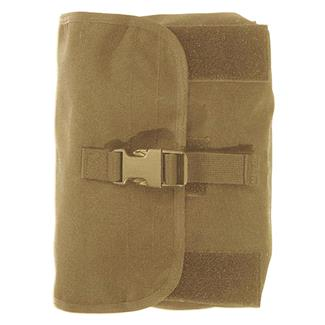 Elite Survival Systems MOLLE Gas Mask Pouch Coyote Tan