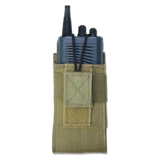 Elite Survival Systems MOLLE Universal Radio Pouch Coyote Tan