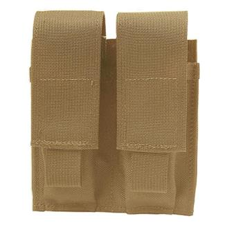 Elite Survival Systems MOLLE Pistol Double Mag Pouch Coyote Tan