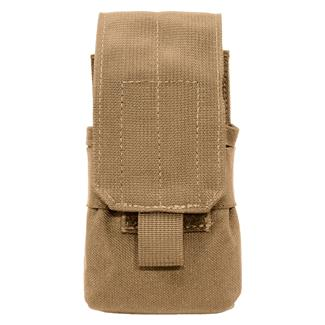 Elite Survival Systems MOLLE Assault Rifle Single Mag Pouch Coyote Tan