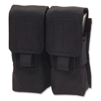 Elite Survival Systems MOLLE Assault Rifle Double Mag Pouch Black