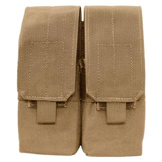 Elite Survival Systems MOLLE Assault Rifle Double Mag Pouch Coyote Tan