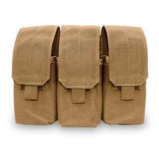Elite Survival Systems MOLLE Assault Rifle Triple Mag Pouch Coyote Tan