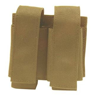 Elite Survival Systems MOLLE Double Grenade Pouch Coyote Tan