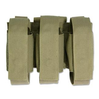Elite Survival Systems MOLLE Triple Grenade Pouch Coyote Tan