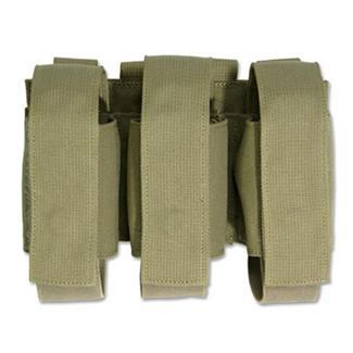 Elite Survival Systems MOLLE Triple Grenade Pouch Coyote Tan