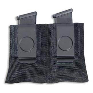 Elite Survival Systems Open Double Mag Pouches with Clip Black