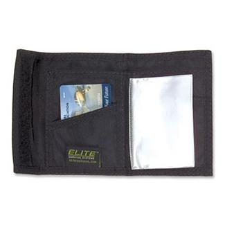 Elite Survival Systems Tri-Fold Wallet Black