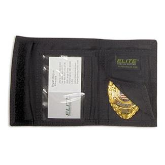 Elite Survival Systems Badge Holder Wallet Black