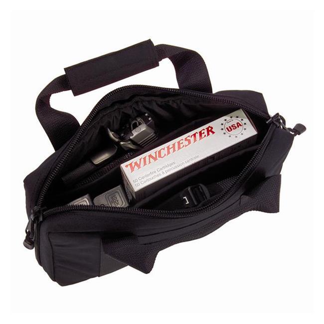 Elite Survival Systems Deluxe Pistol Case Black