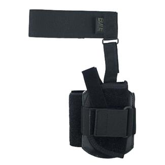 Elite Survival Systems Ankle Holster with Calf Strap Black