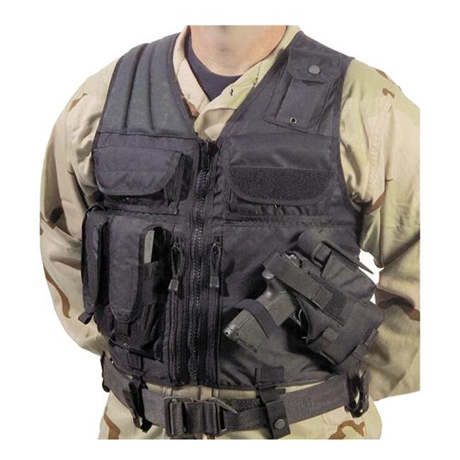 Elite Survival Systems Tactical Holster Vest Black