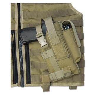 Elite Survival Systems Modular Pistol Holster Coyote Tan