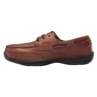Rockport Works Sailing Club Boat Shoe ST Dark Brown