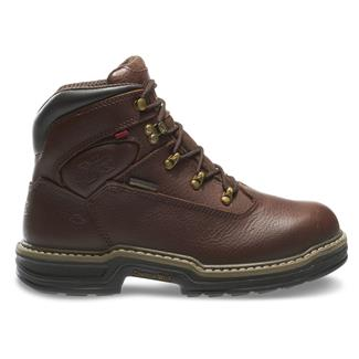 "Wolverine 6"" Buccaneer ST WP Dark Brown"