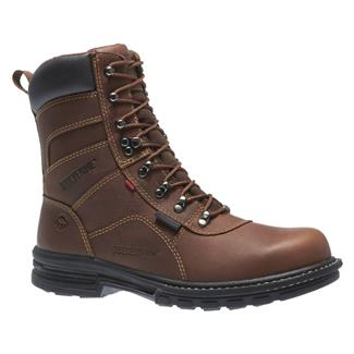 """Wolverine 8"""" Meteor Fusion 180 ST WP Brown"""