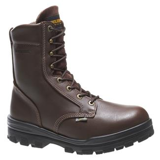 "Wolverine 8"" Durashocks 400G ST WP Brown"