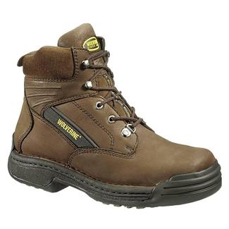 "Wolverine 6"" Durashocks Oblique ST Brown"