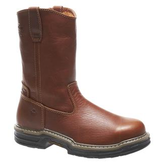 "Wolverine 10"" Raider Wellington ST Brown"