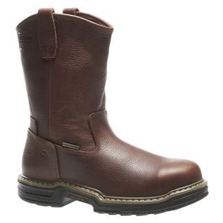 "Wolverine 10"" Buccaneer Wellington ST WP Brown"