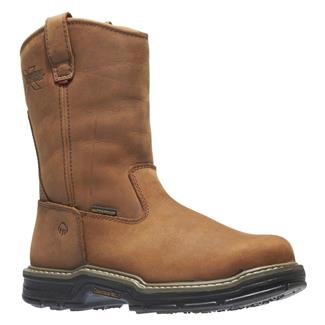 "Wolverine 10"" Marauder Wellington ST WP Brown"