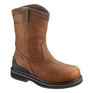 "Wolverine 10"" Triad Wellington ST WP Brown"