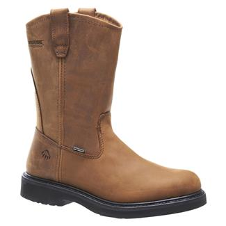 "Wolverine 10"" Ingham Wellington Brown"