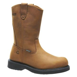 "Wolverine 10"" Ingham Wellington ST Brown"