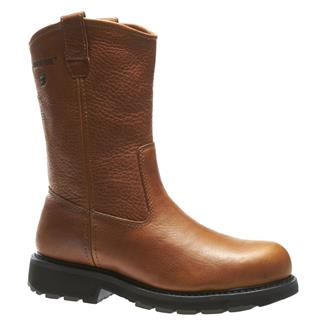"Wolverine 10"" Herrin Wellington ST Brown"