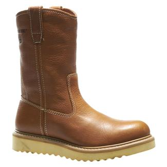 "Wolverine 10"" Wedge Heel Wellington Brown"