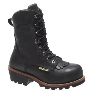 "Wolverine 8"" Buckeye Logger GTX AT Black"