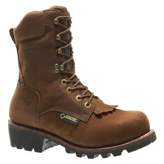 "Wolverine 8"" Chesapeake GTX 400G ST Brown"