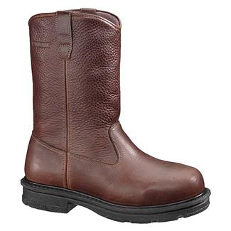 "Wolverine 10"" Internal Met Guard Wellington ST Brown"