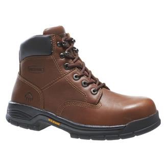 "Wolverine 6"" Harrison ST Brown"