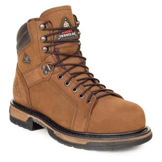 "Rocky 6"" IronClad Suede ST WP Brown"