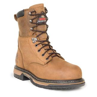 """Rocky 8"""" IronClad Suede ST WP Trail Crazy"""