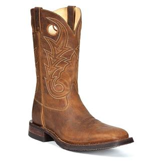 "Rocky 12"" Handhewn Square Toe Saddle Brown"