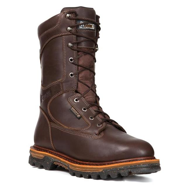 "Rocky 10"" RidgeStalker 1000G WP Dark Brown"